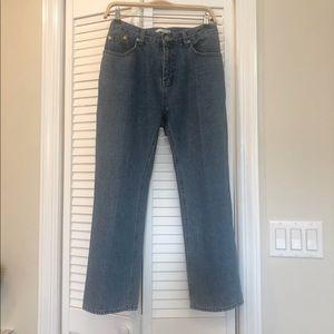 Oak fort Women's boot cut jeans size s